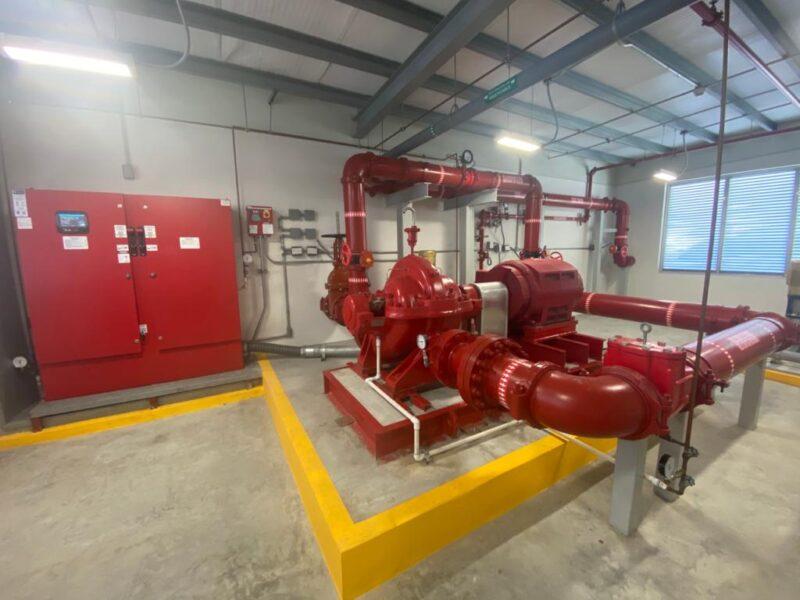 Colon Logistic terminal - Sistema de bomba contra incendio Electrica (2)