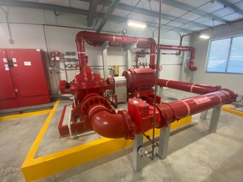 Colon Logistic terminal - Sistema de bomba contra incendio Electrica (6)